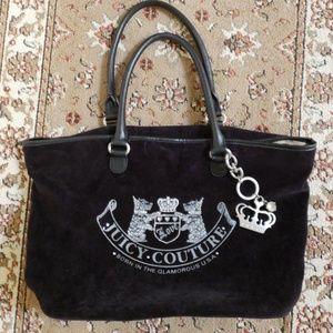 Juicy Couture Velvet Handbag